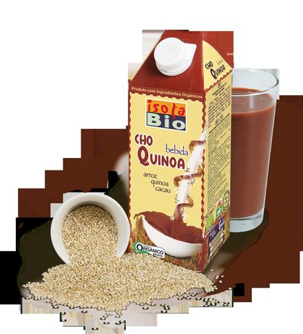 ChoQuinoa Rice Drink Dairy-Gluten Free Isola Bio C.Org. (750ml)